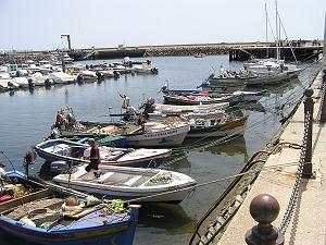 olhao algarve boats