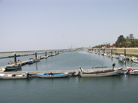 Olhao Port Algarve